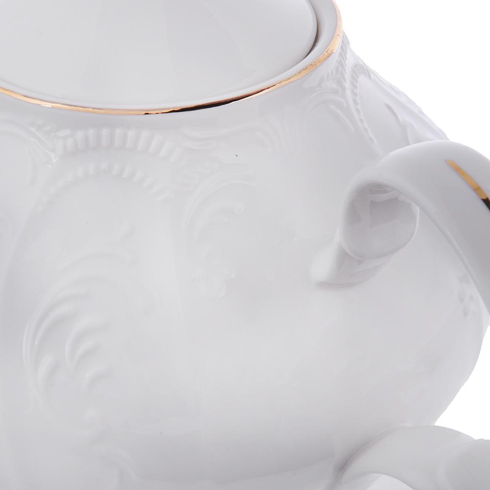 MILLIMI Менуэт Чайник заварочный, 1000 мл, костяной фарфор