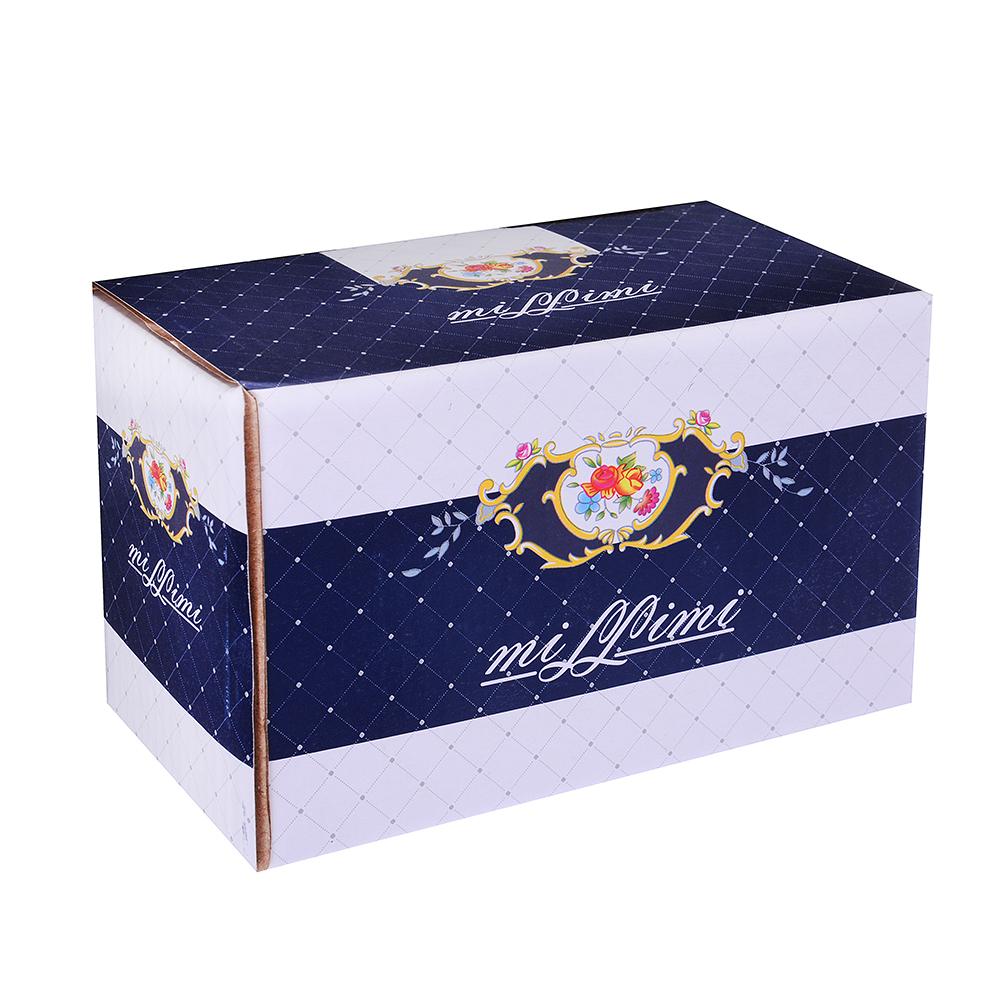 MILLIMI Менуэт Набор для соли и перца, 15х8х8см, костяной фарфор