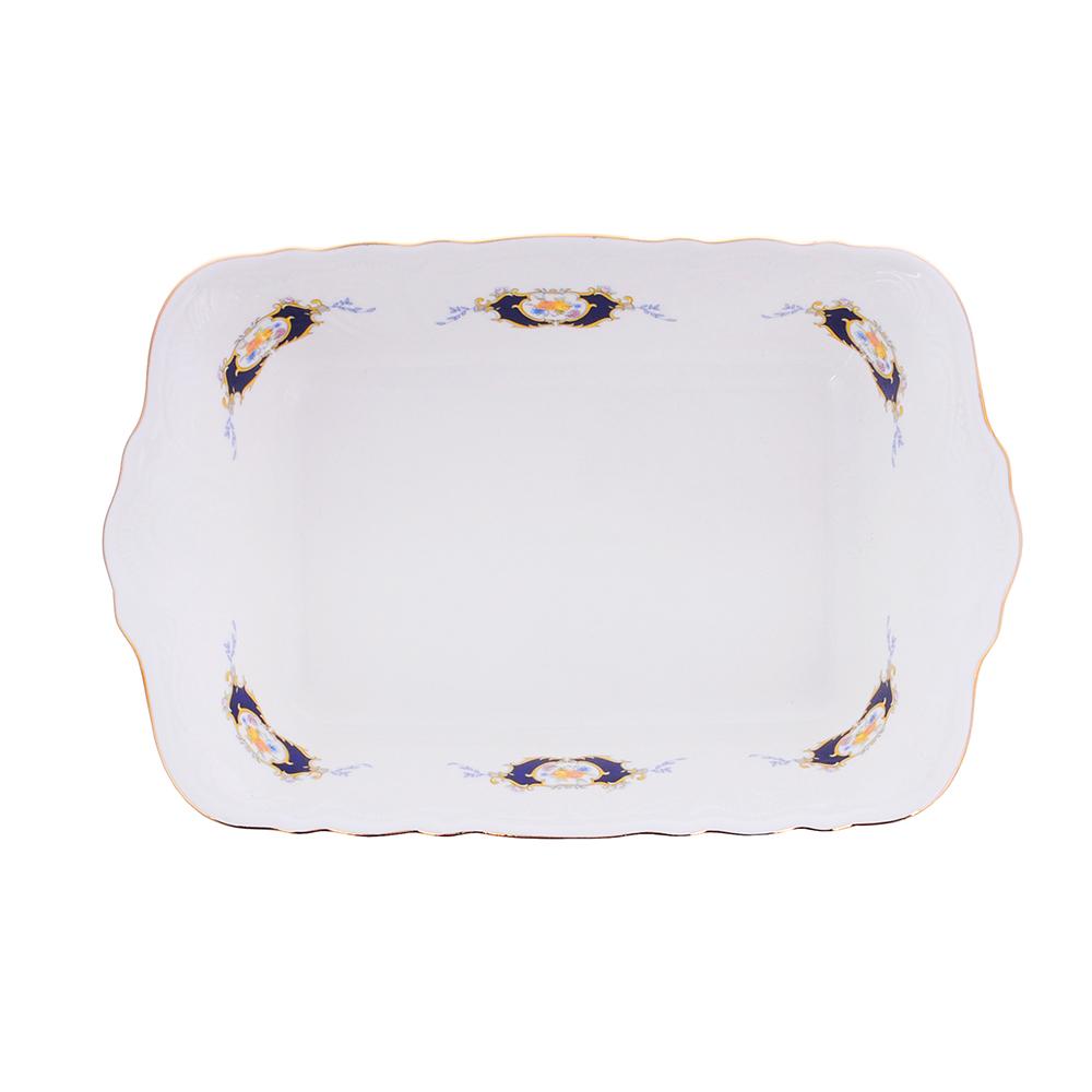 MILLIMI Менуэт Форма для запекания и многослойных салатов, 28х17,5х6см, костяной фарфор