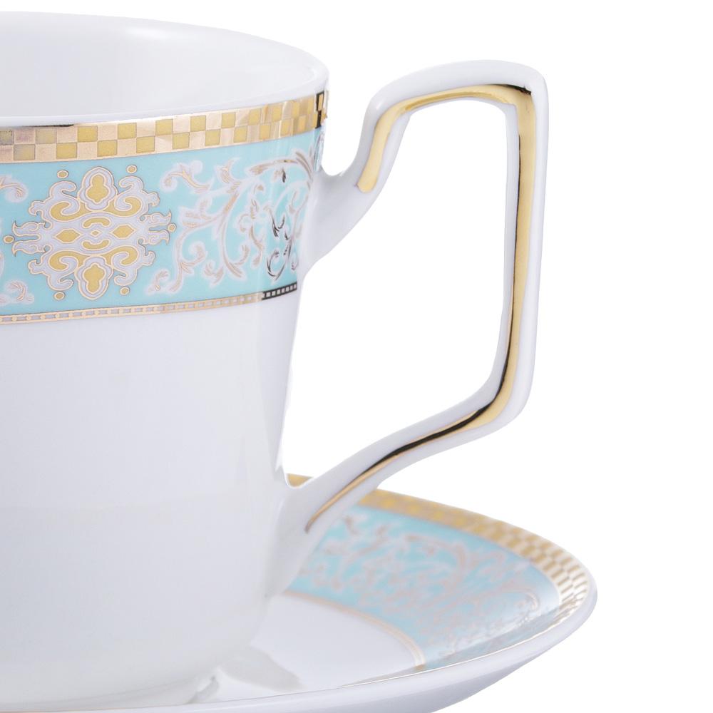 Чайный сервиз 2 предмета MILLIMI Лагуна 260мл, костяной фарфор