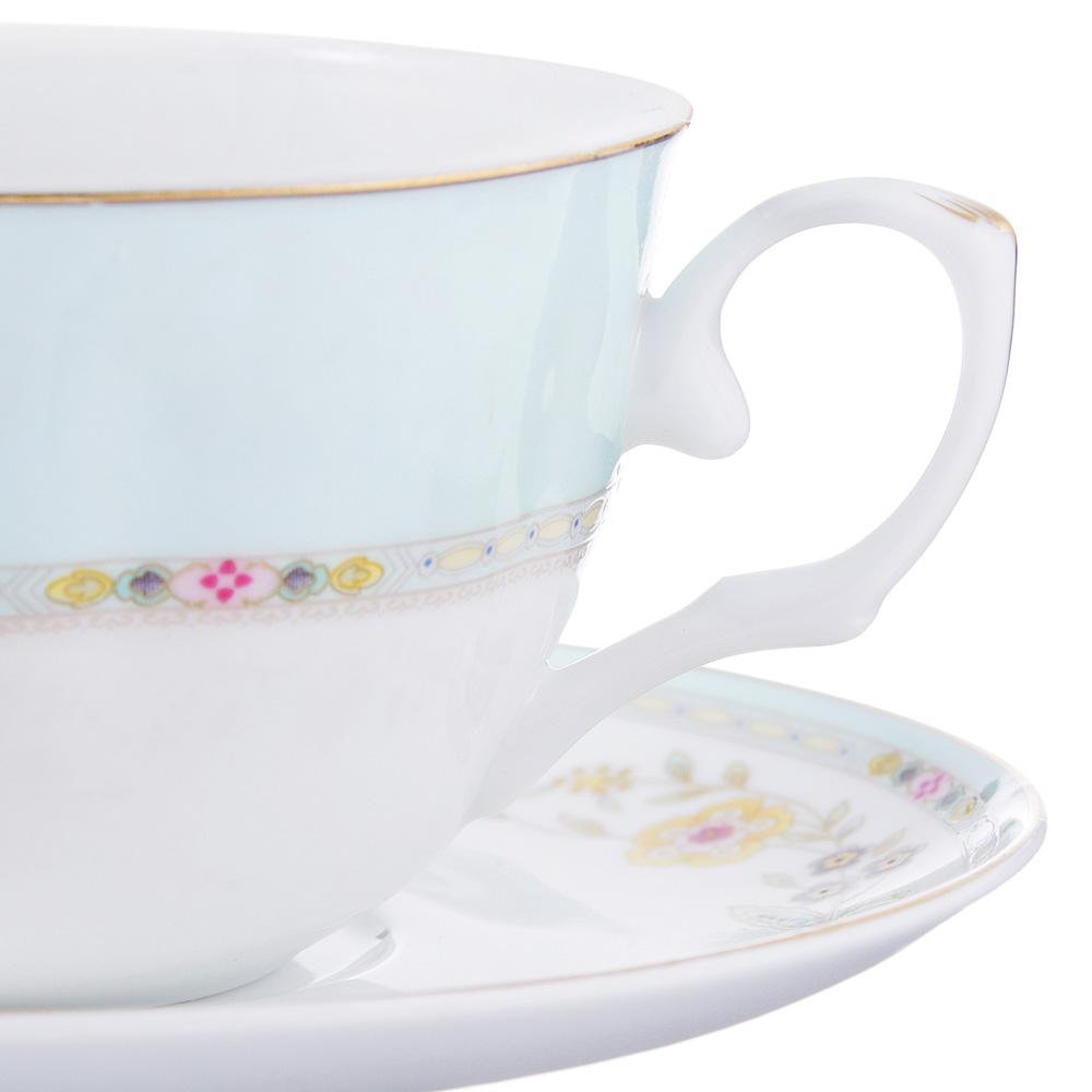 Чайный сервиз 12 предметов MILLIMI Марсела 250мл, тонкий фарфор