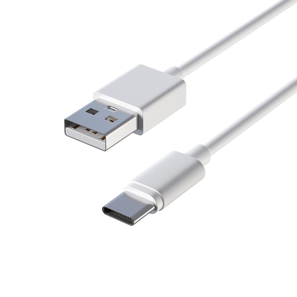 Кабель для зарядки телефона FORZA Type C, стандарт, 1м, 1,5А, покрытие TPE