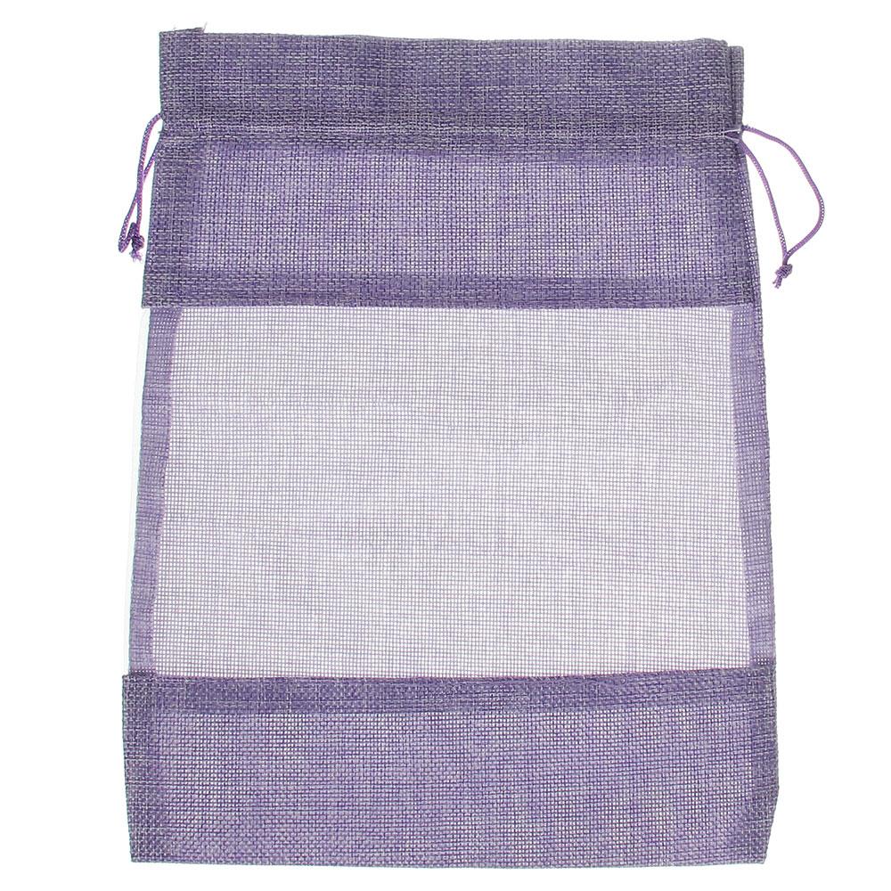 Мешок подарочный, ткань, полиэстер, 23х30 см, 5 цветов