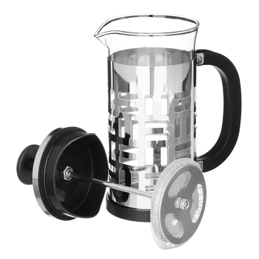 VETTA Делайн Френч-пресс 350мл, жаропрочное стекло, нерж.сталь