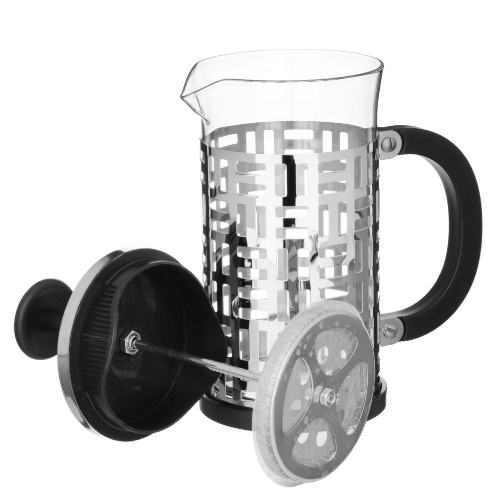 VETTA Делайн Френч-пресс 600мл, жаропрочное стекло, нерж.сталь