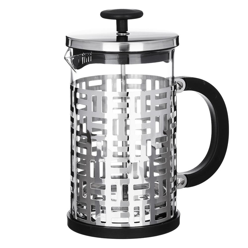 VETTA Делайн Френч-пресс 800мл, жаропрочное стекло, нерж.сталь