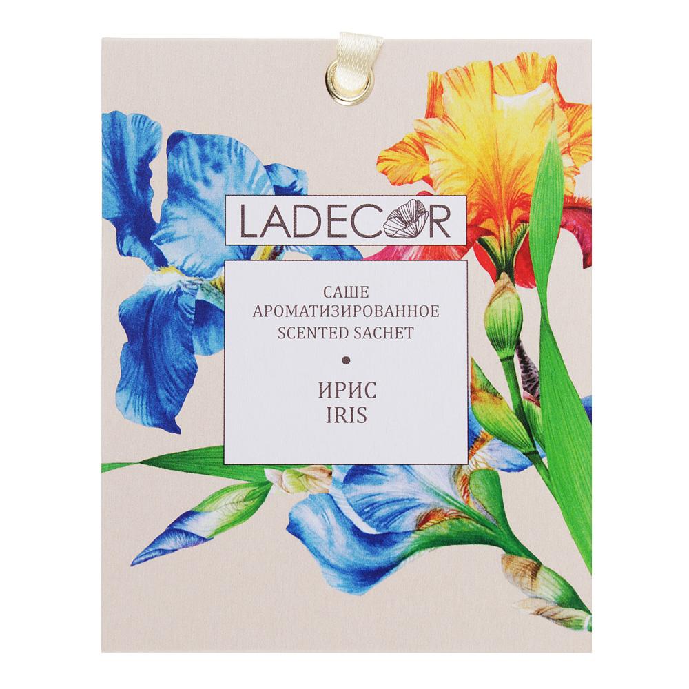 LADECOR Аромасаше с ароматом ириса, 10 гр