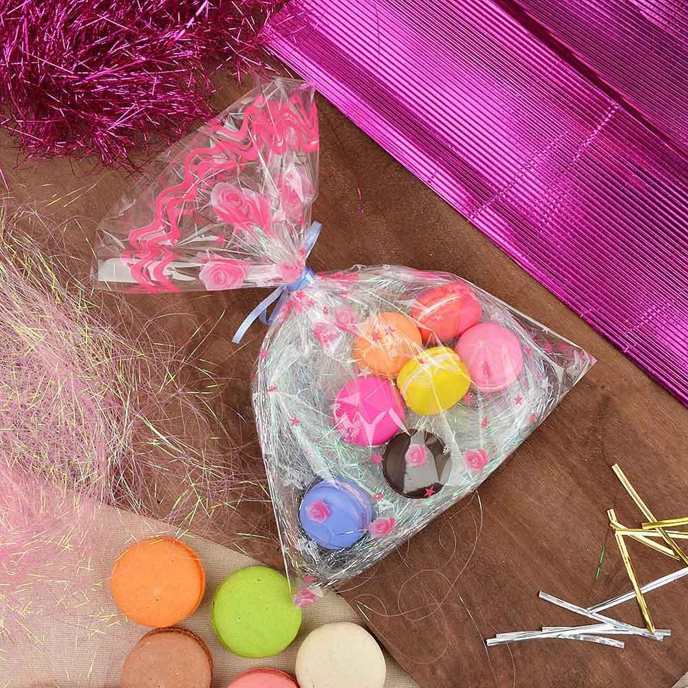 Пакет для упаковки подарков, ПВХ, с рисунком, 25х35 см