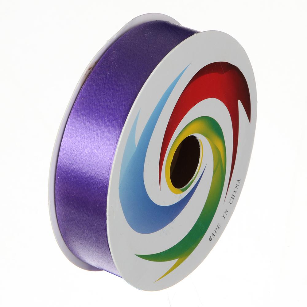 Лента подарочная, декоративная, 1,8 см х 8 м, пластик, 9 цветов