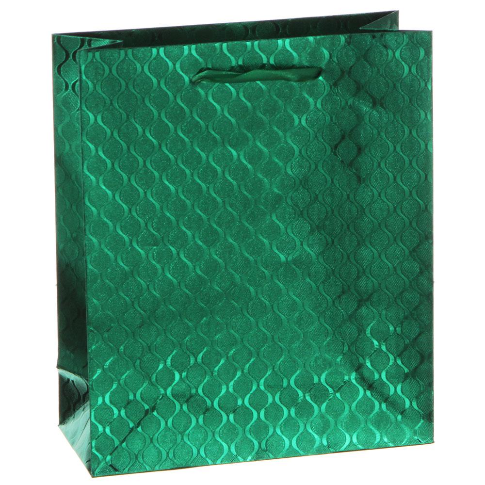 Пакет подарочный бумажный, 18х21хх7,5 см, 8 цветов
