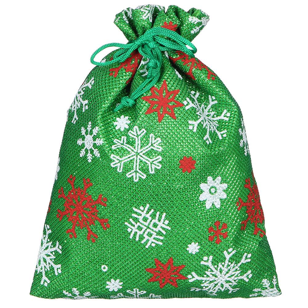 Мешок подарочный, 15х20 см, 5 цветов