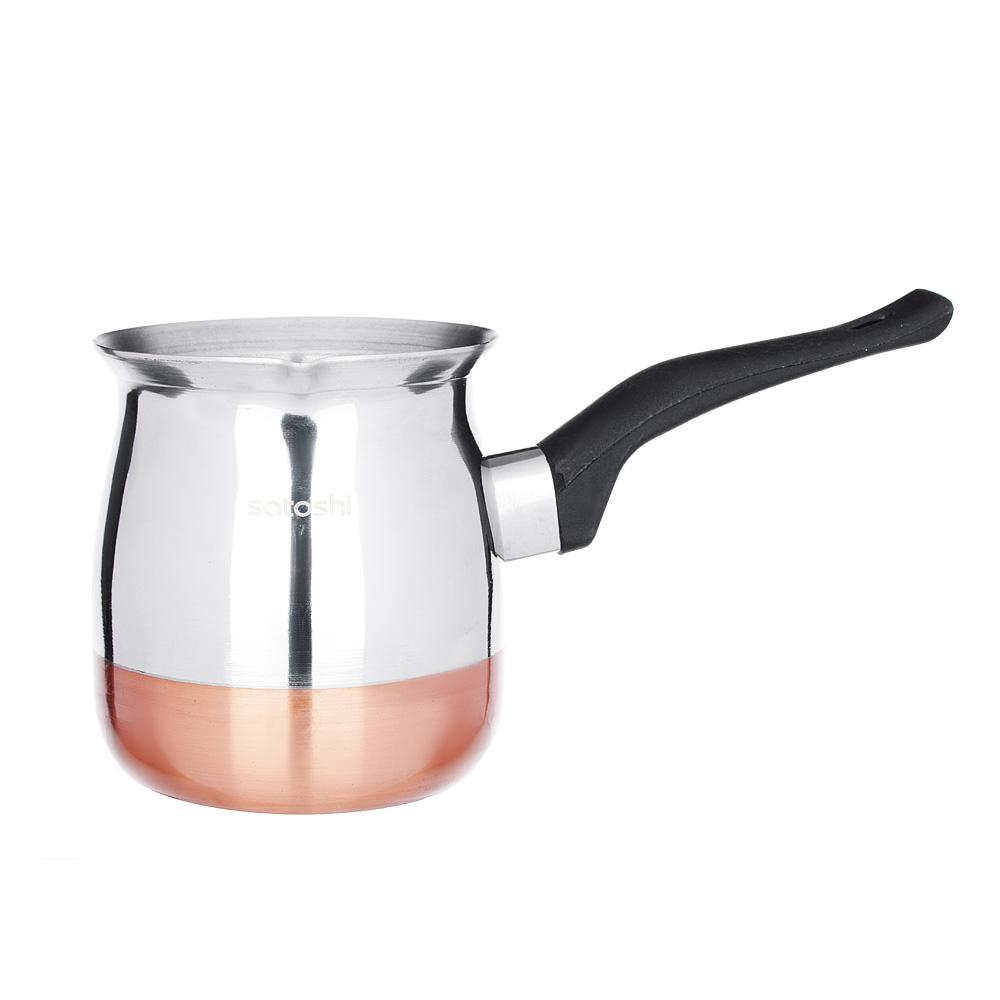 SATOSHI Турка для кофе, 650мл, нерж.сталь, дно с медным покрытием