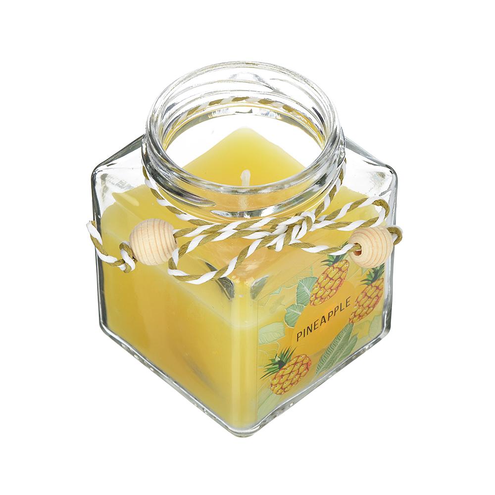 LADECOR Свеча ароматическая, в стекле, 6,5х6 см, 6 ароматов