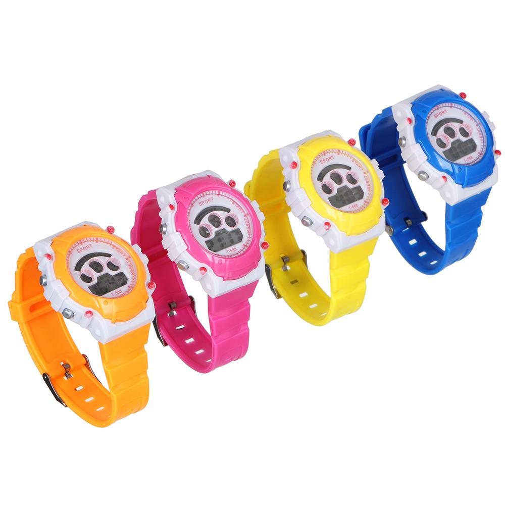 BERIOTTI Часы электронные, 4-6 цветов, тип батарейки AG10, ЧН2019-2