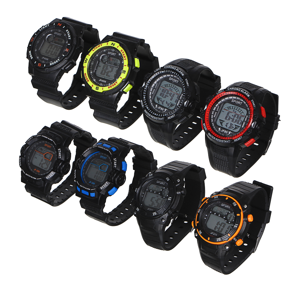 BERIOTTI Часы электронные, 4 дизайна, тип батарейки 2032, ЧН2019-5