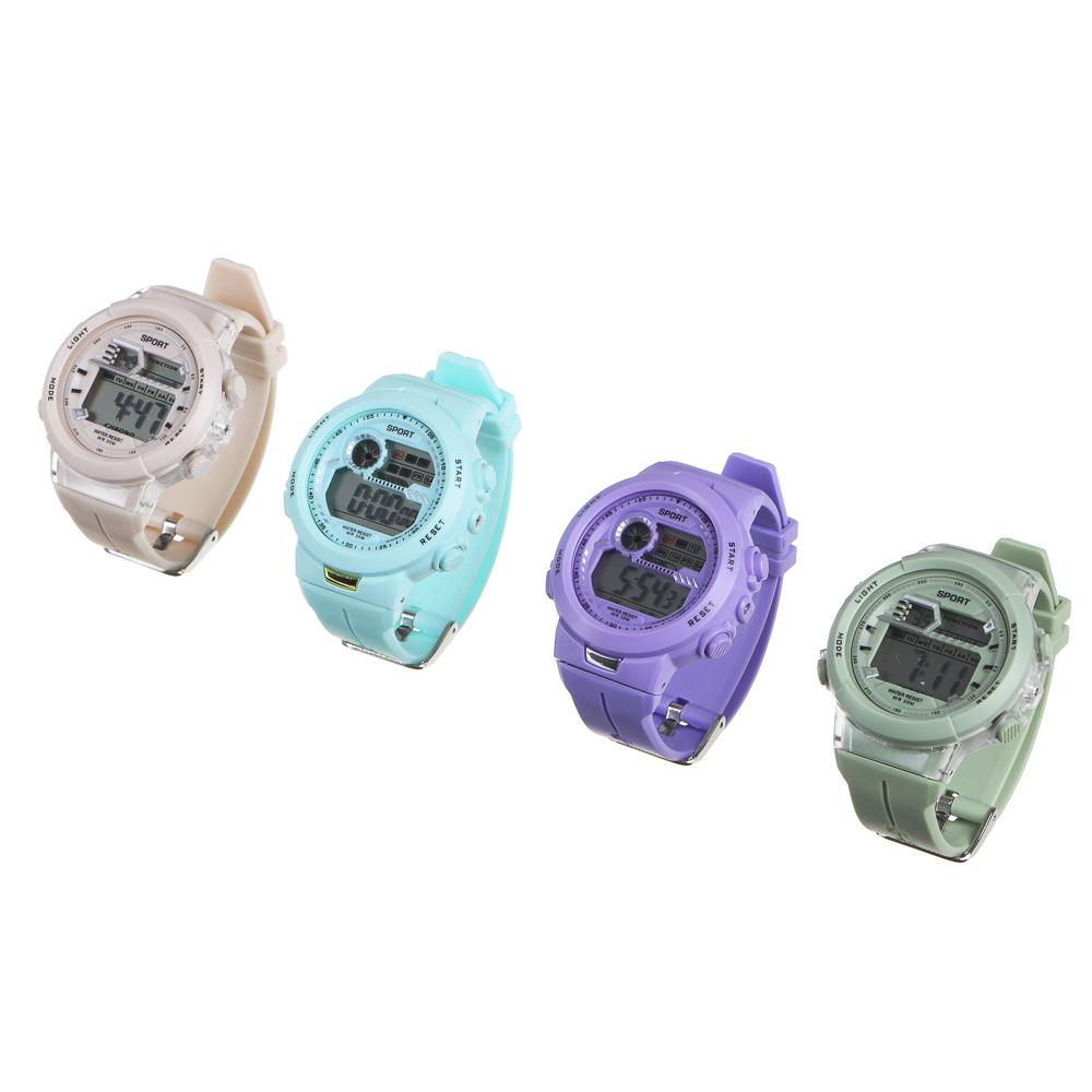 Часы электронные наручные BERIOTTI, 1х2032, 4-6 цветов