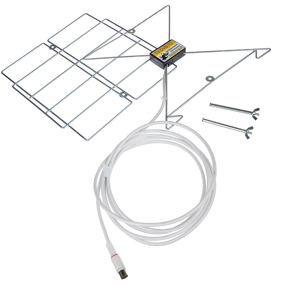 Антенна цифровая для приема цифрового телевидения стандарта DVB-T2