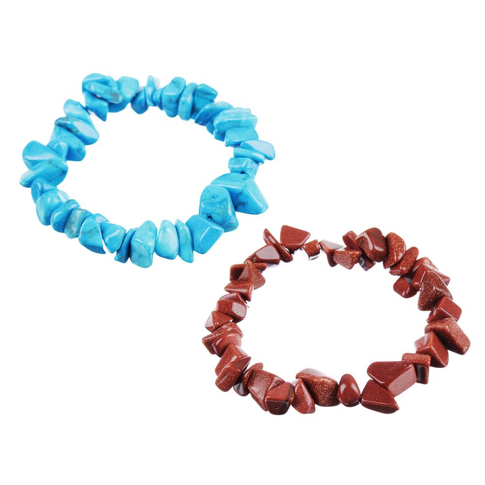 BERIOTTI Стихия Огонь Браслет из натурального камня, d=18,5см, 2 цвета