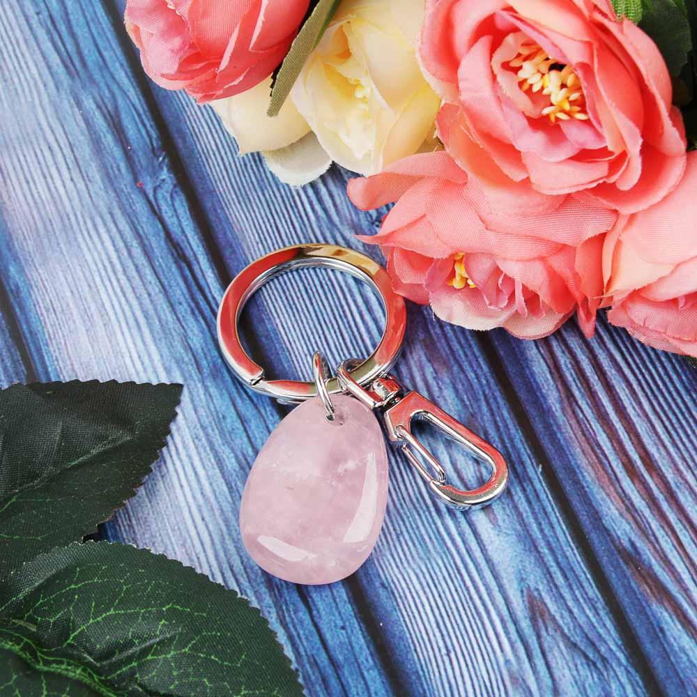 BERIOTTI Стихия Воздух Брелок из натурального камня, металл, 2,5х3,5х0,8см, 3 цвета
