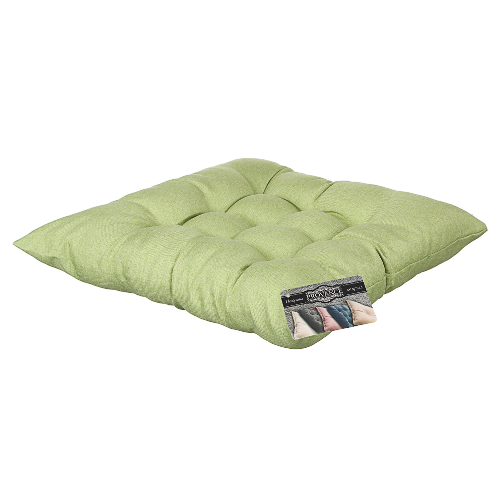 Подушка на стул PROVANCE 40x40см, полиэстер, 4 дизайна