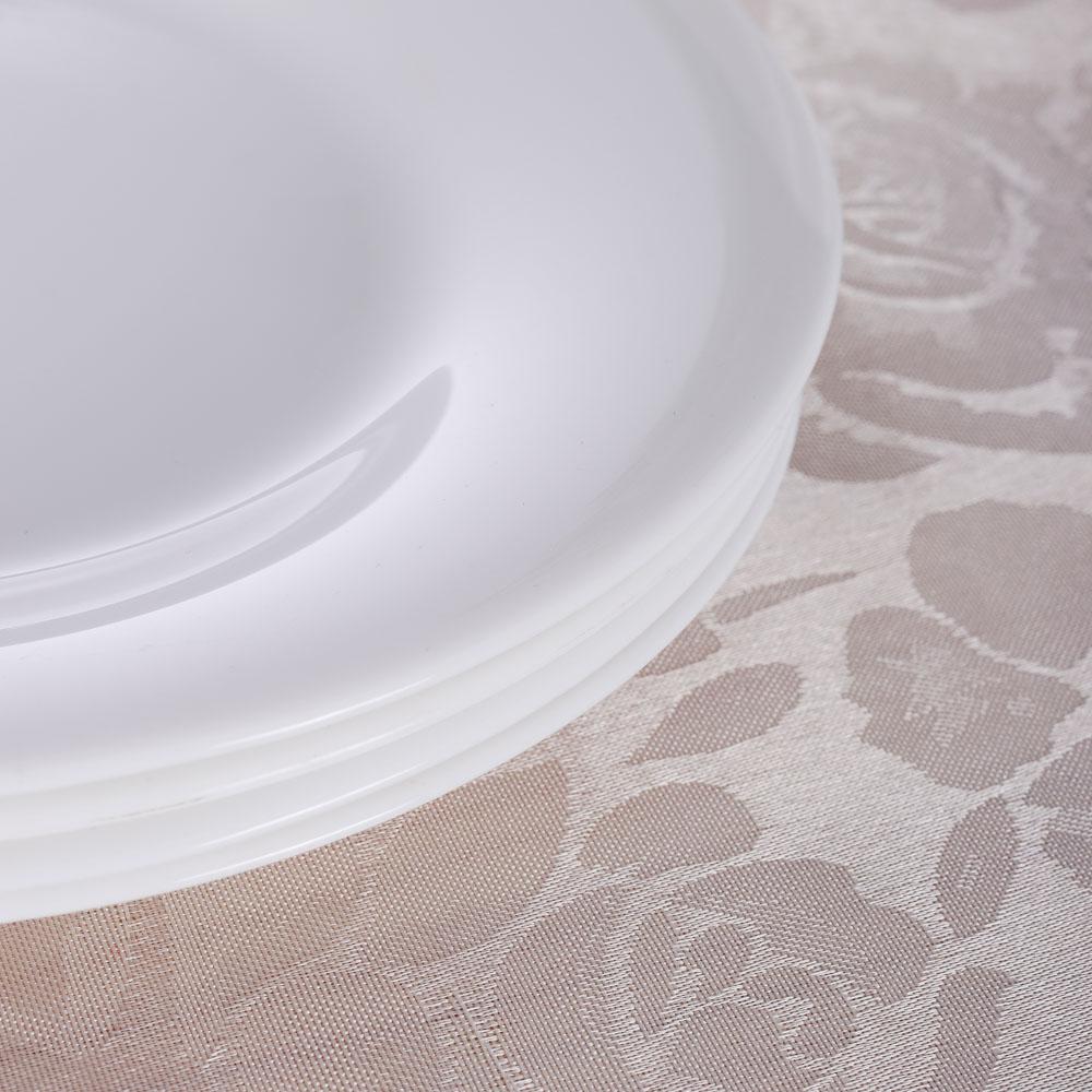 """PROVANCE Скатерть текстильная """"Розалия"""", 140x140см, 100% ПЭ, 2 цвета"""