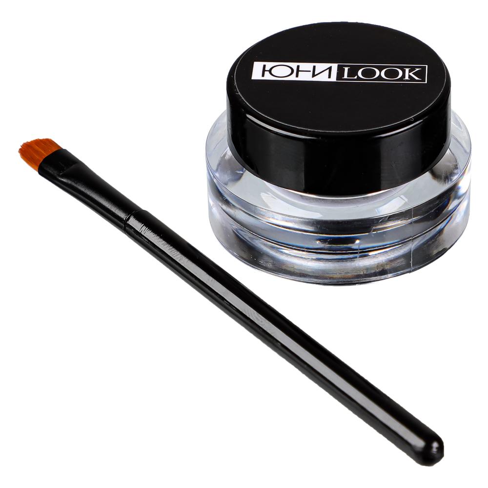 ЮниLook Гелевая подводка для глаз и бровей ЕЛ-19, 3,3гр, 2 цвета