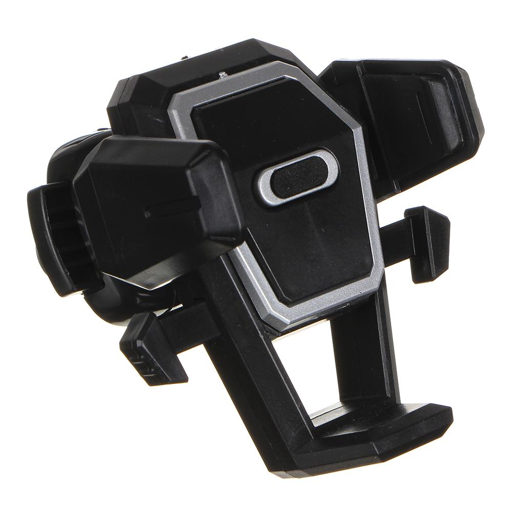 NEW GALAXY Держатель телефона на дефлектор, тип: раздвижной, с кнопкой, пластик