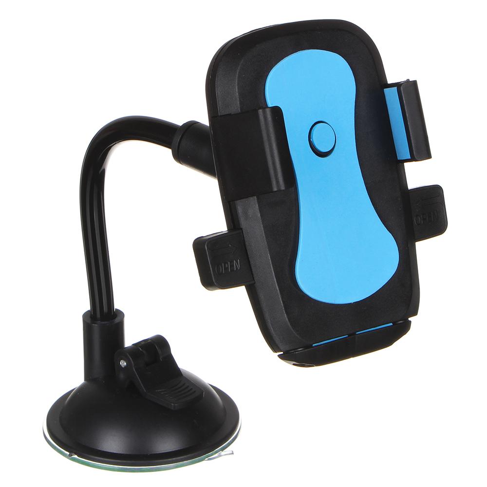 NEW GALAXY Держатель телефона на присоске, тип: раздвижной, гибкая ножка, 23см, пластик