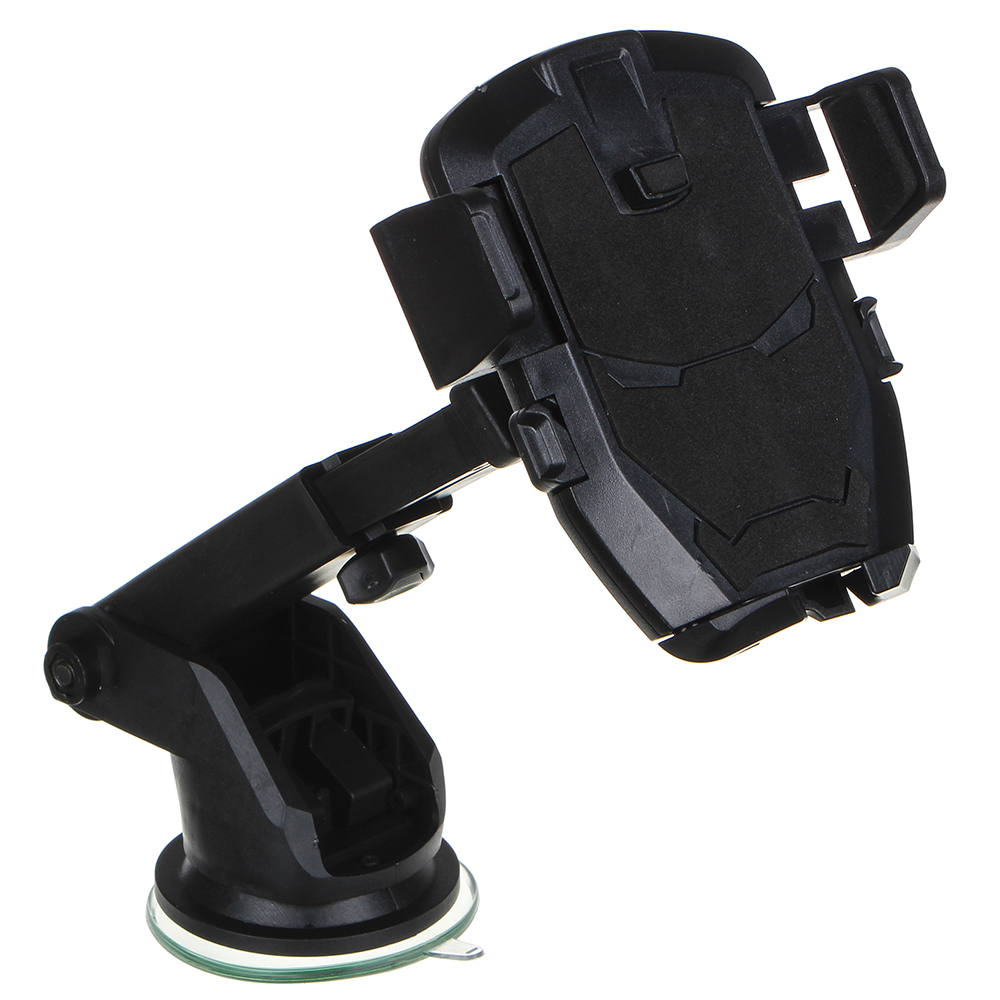 NEW GALAXY Держатель телефона на присоске, телескопический, раздвижной, 55-85мм, пластик
