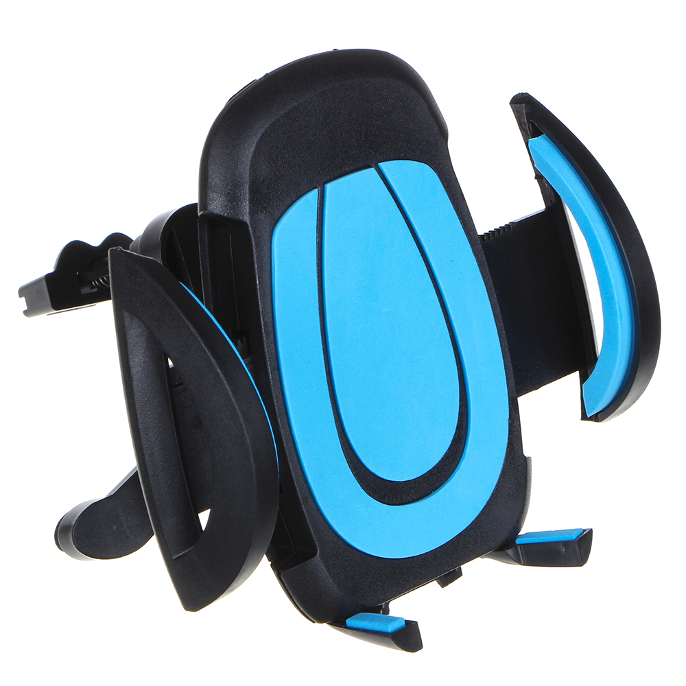 NEW GALAXY Держатель телефона на дефлектор, раздвижной, 50-100мм, пластик