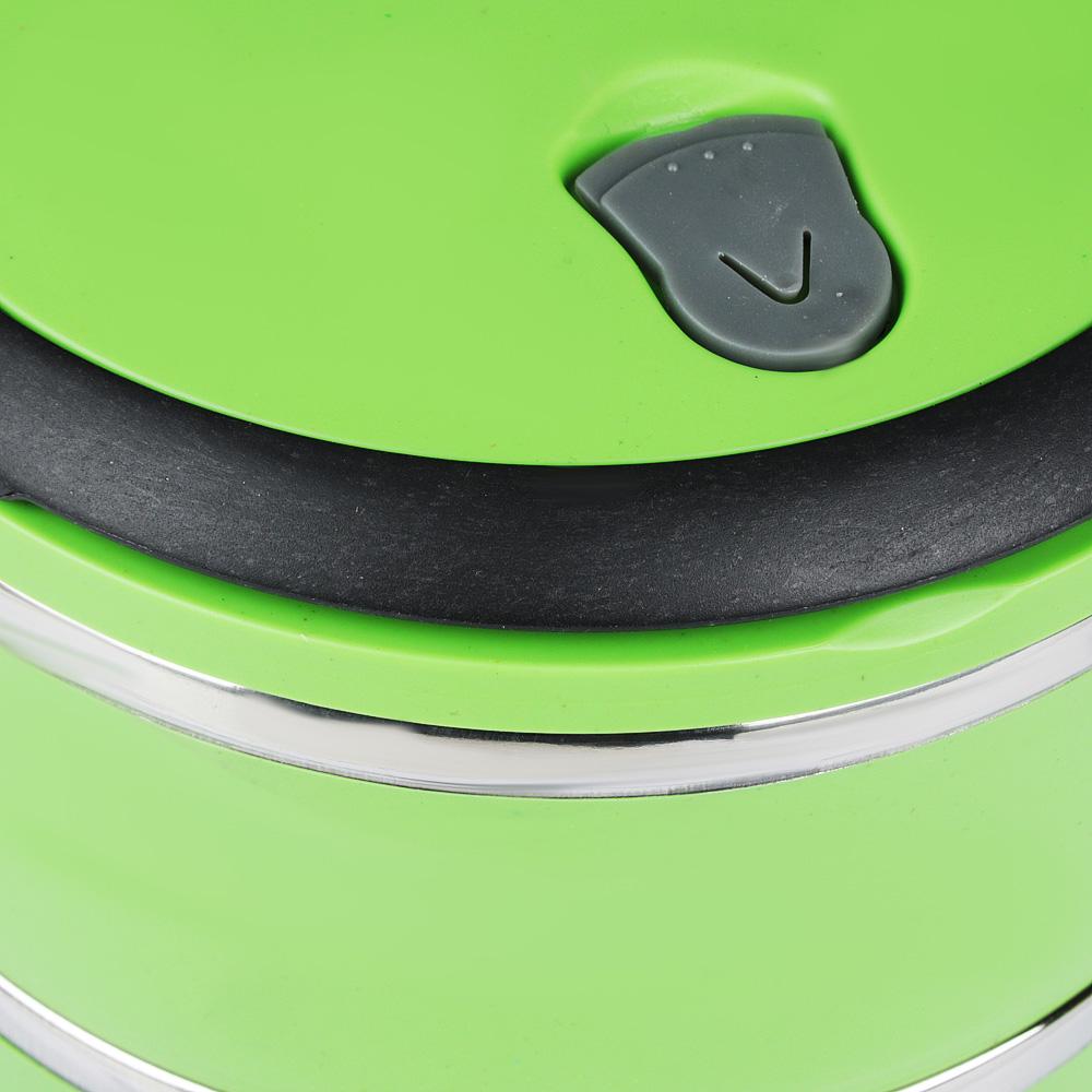 Ланч бокс VETTA, d.14 см, 3 отделения, 2,1 л, 2 цвета