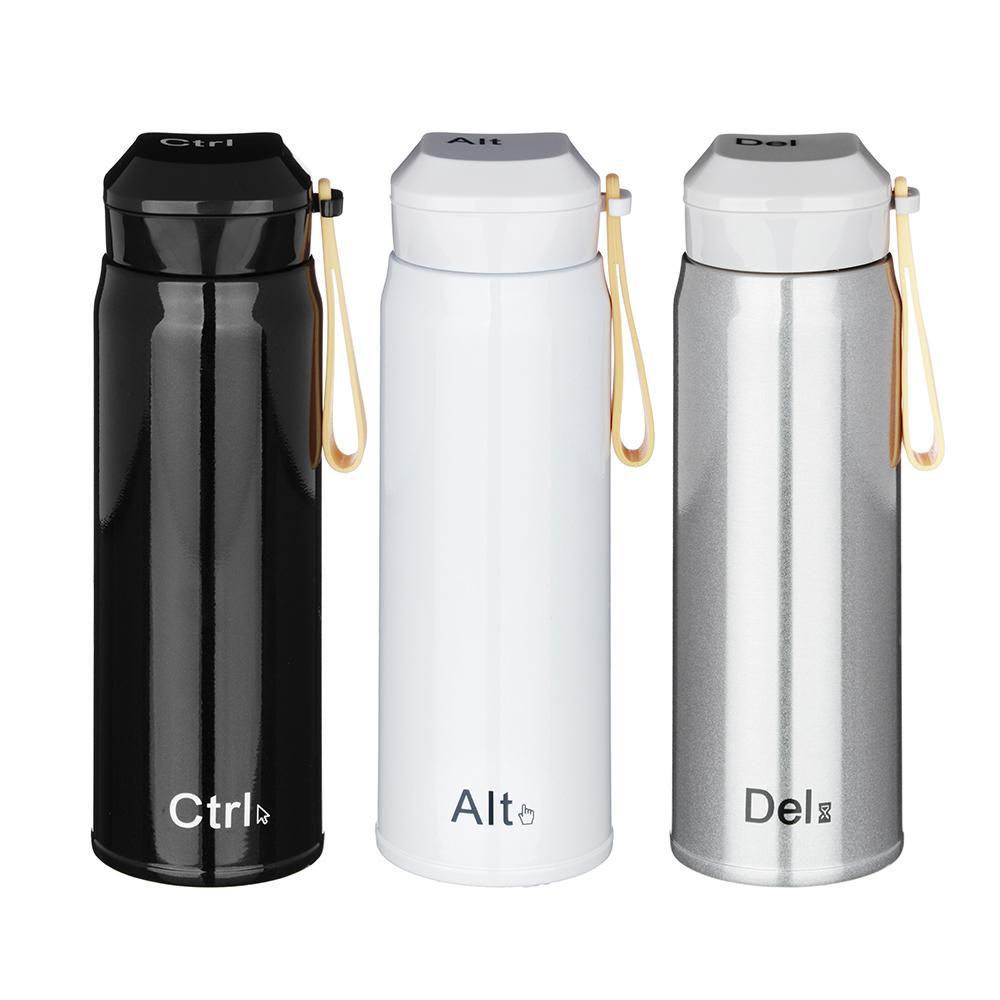 """Термокружка SATOSHI """"Ctrl+Alt+Del"""", 450мл, нерж.сталь, 3 цвета"""