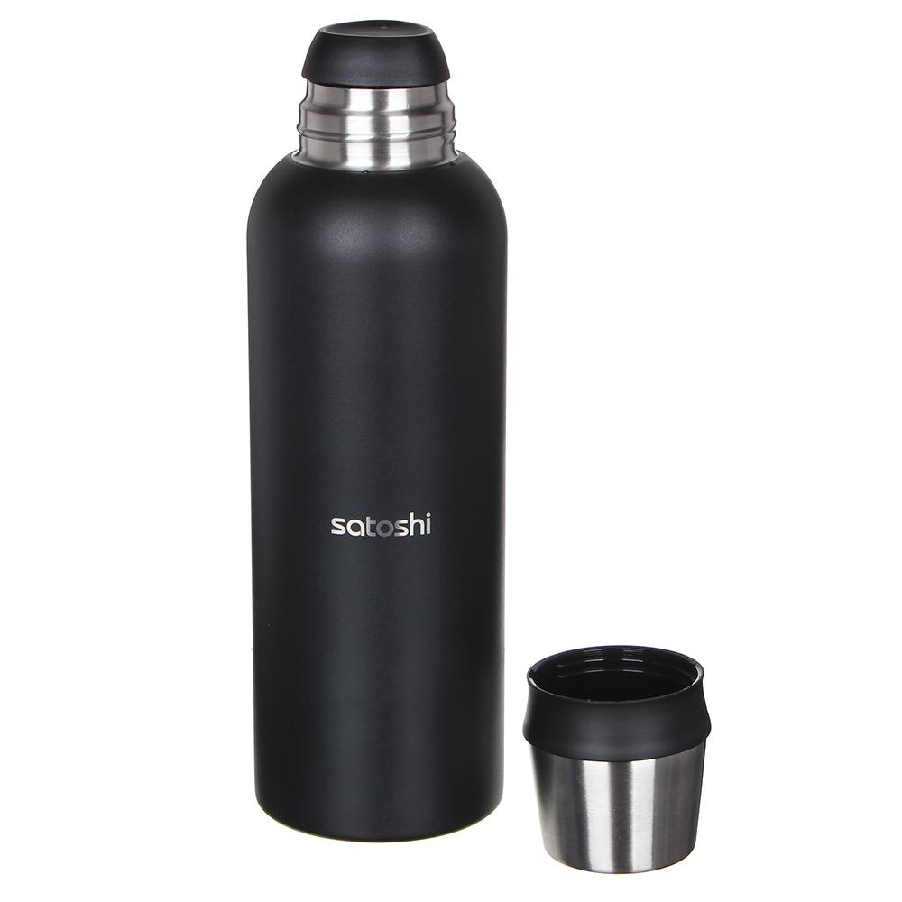 Термос SATOSHI К2 для напитков, 1 л, нержавеющая сталь