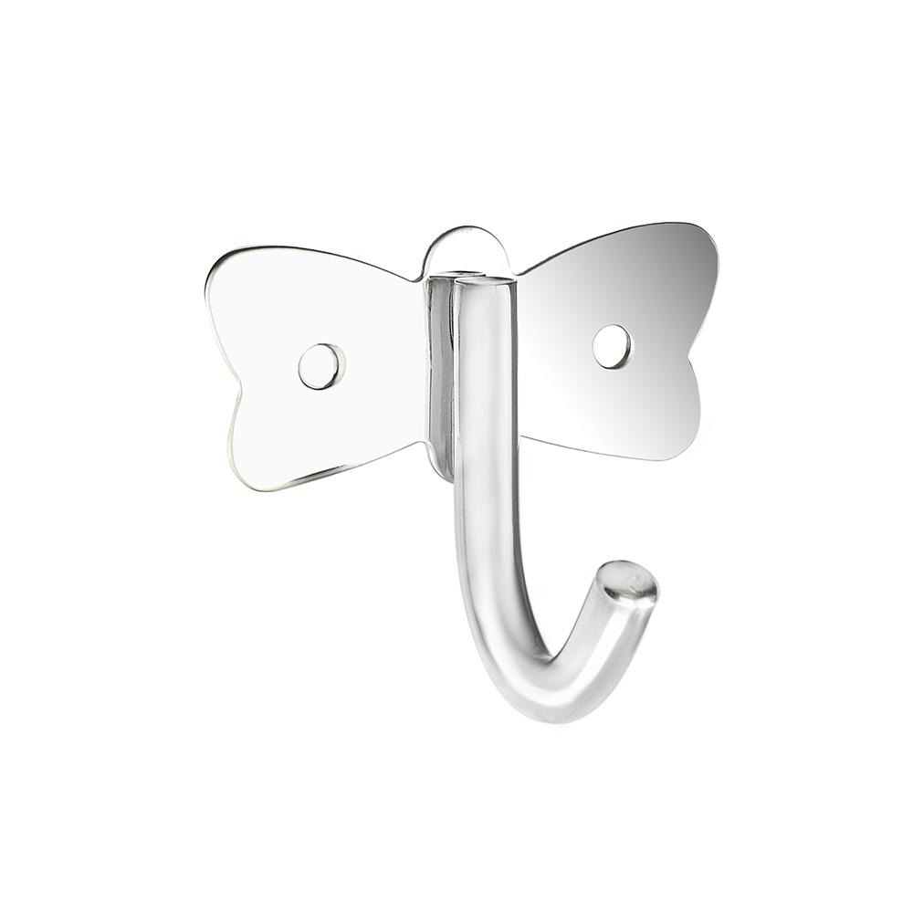 SonWelle Крючок бабочка с креплением, металл