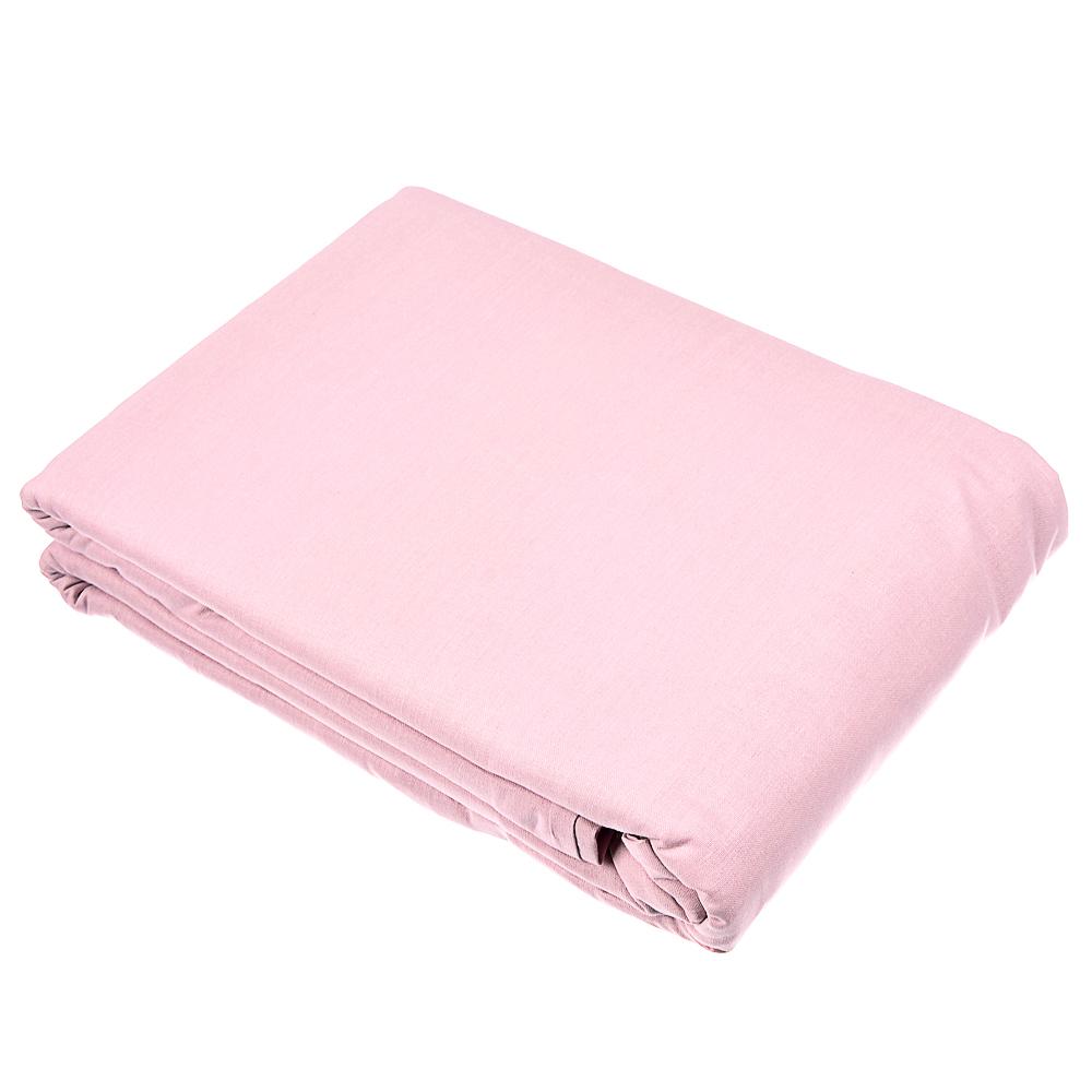 Пододеяльник  1,5 PROVANCE, 145х215 см, хлопок, графит/нежно-розовый