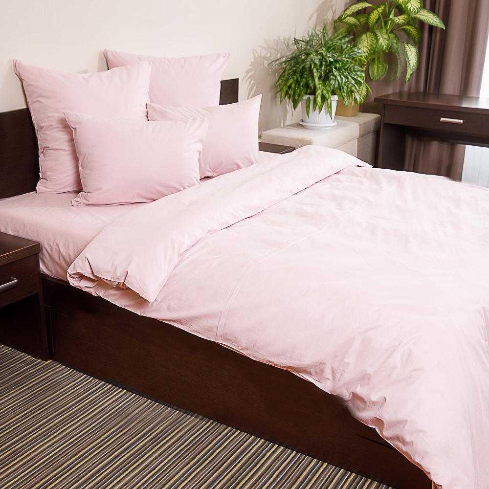 Пододеяльник  2,0 PROVANCE, 175х215 см, хлопок, графит/нежно-розовый