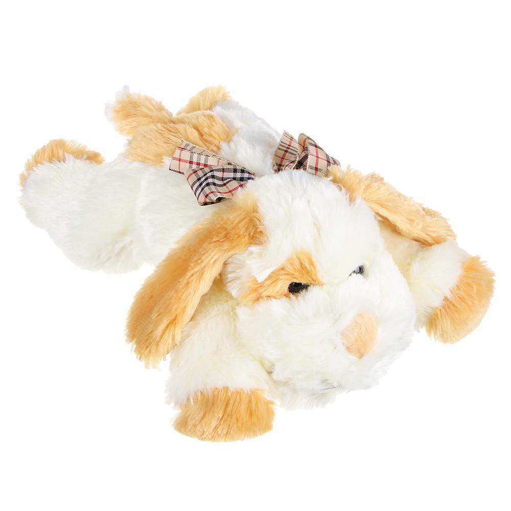 МЕШОК ПОДАРКОВ Игрушка мягкая в виде собаки, полиэстер, 30см, 2 цвета