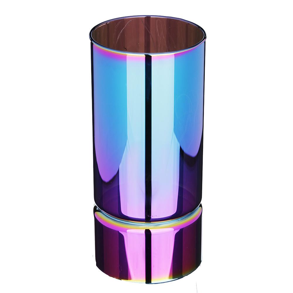 Светильник LED с гирляндой, 15х7 см, стекло, 2хАА, без батареек, 2 цвета, арт2