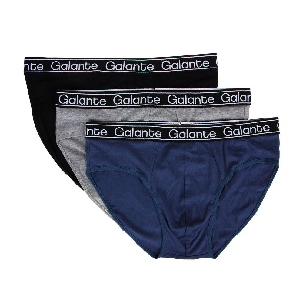 GALANTE Трусы-слипы мужские классика, 95%хлопок, 5%спандекс, р-ры 48-56, 2-3 цвета