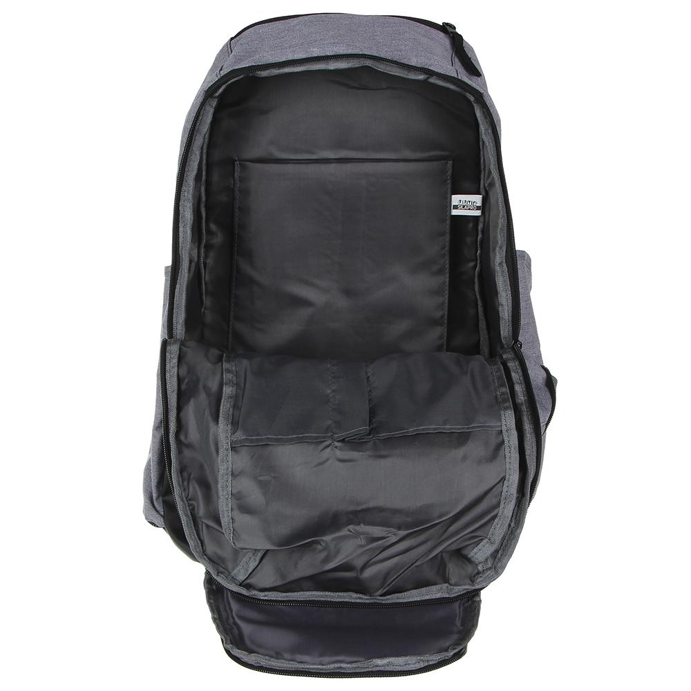 SILAPRO Рюкзак премиум с вентилирующим отделом под обувь, 50х28х18см, полиэстер, EVA