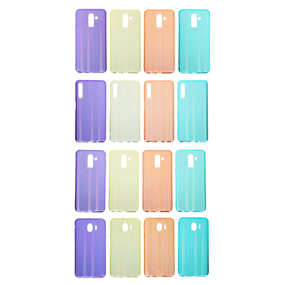 Чехол защитный для телефона, TPU, 4 модели, 4 цвета, ЧМ19-1