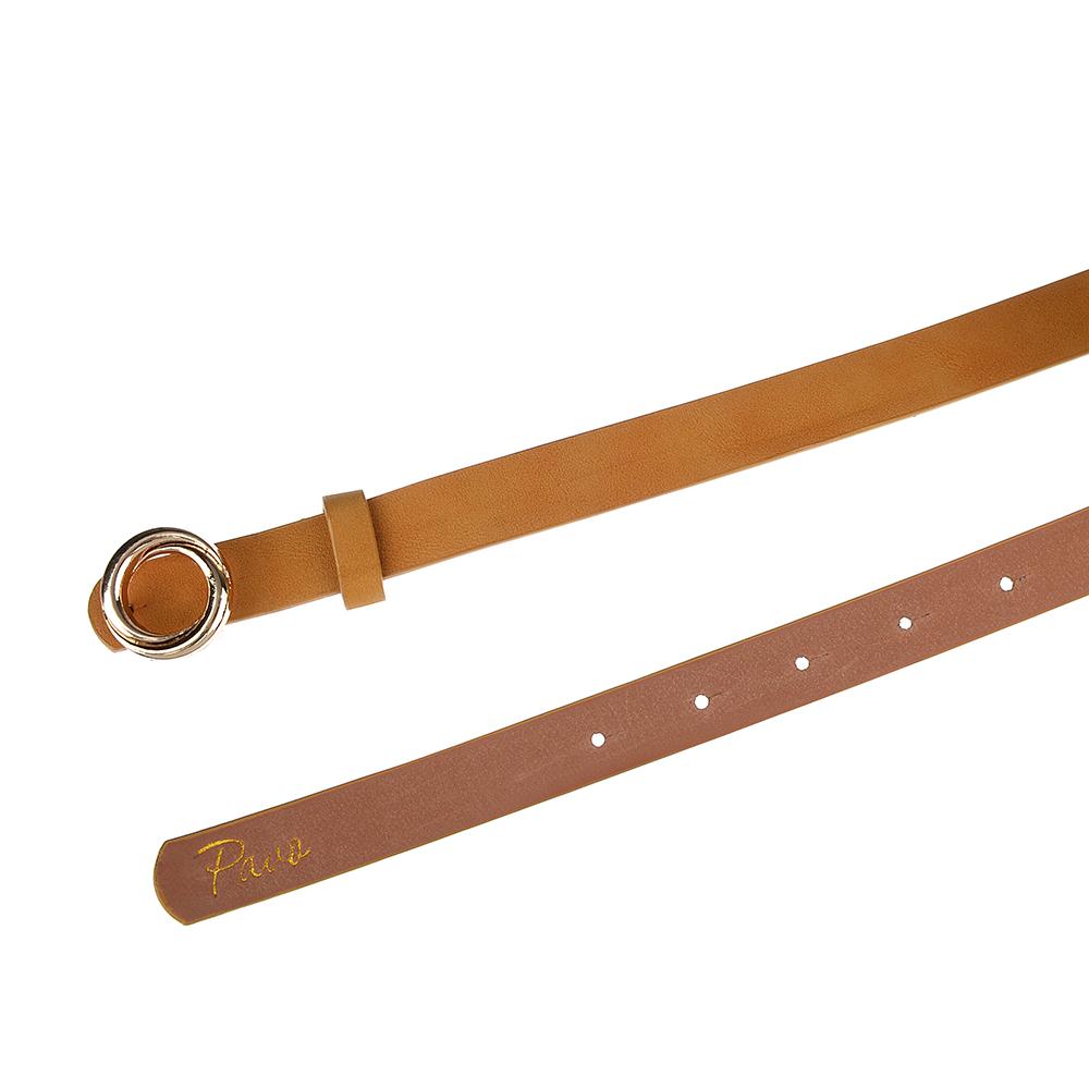 PAVO Ремень женский, ПУ, сплав, длина 105/115см, ширина 1,8см, 2 дизайна, РЖ19-5