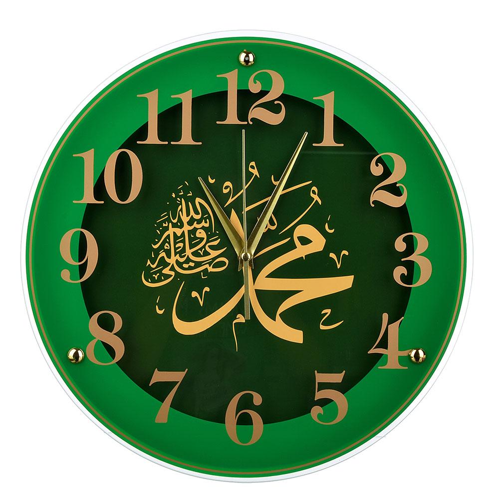 Часы настенные круглые, 39см, стекло, 2 дизайна, МТ 3