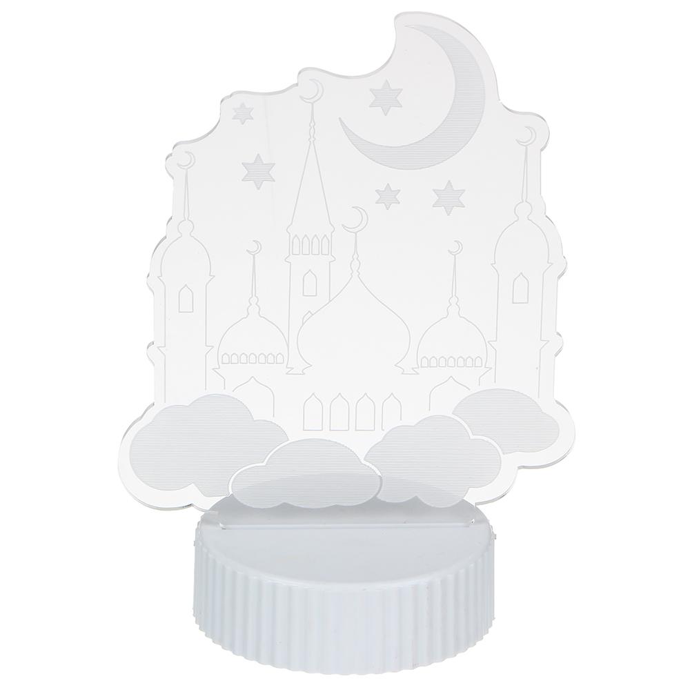Светильник, 18х13х8,5см, пластик, МТ 3, 3хААА