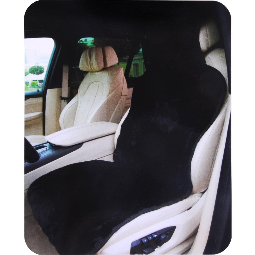 NEW GALAXY Накидка меховая, полиэстер, 142х53 см, черный