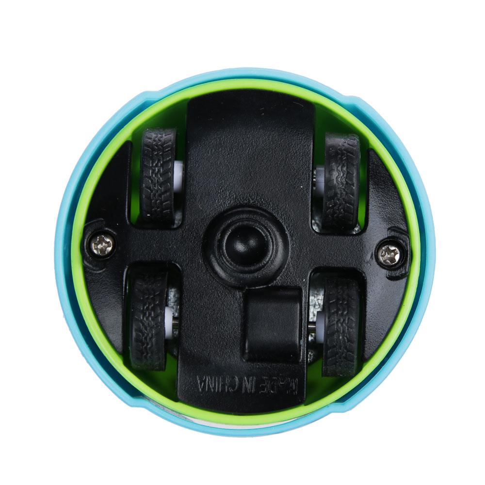 ИГРОЛЕНД Гиро-волчок, пластик, 14х11,5х2см, 4 дизайна