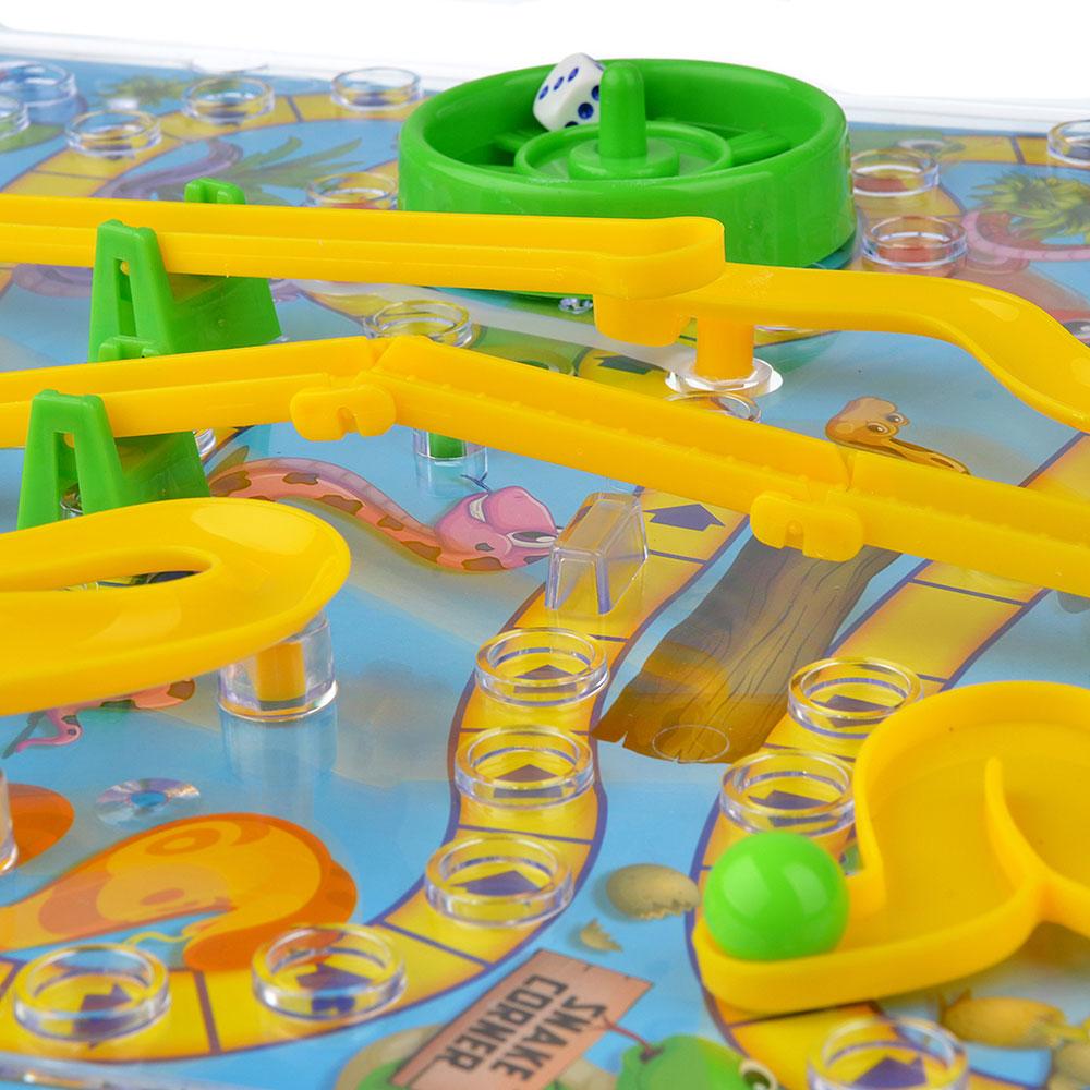 ИГРОЛЕНД Игра настольная 3D-змейки, пластик, 31,5х31,5х5,5см