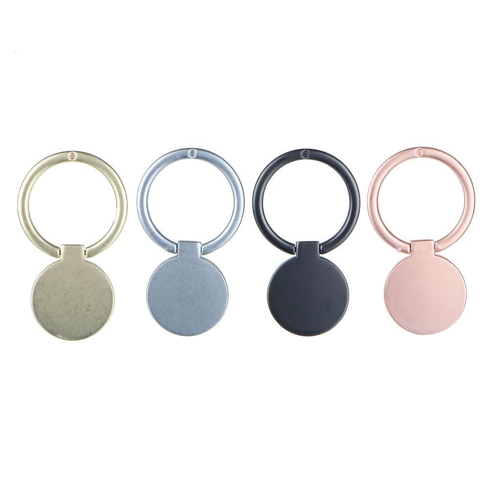 Кольцо-держатель для телефона FORZA 4 цвета, металл, матовый