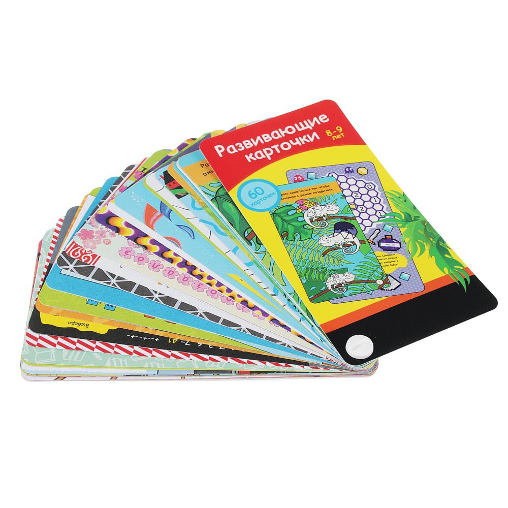 ИГРОЛЕНД Карточки развивающие 60 шт, картон, 9х19x2см