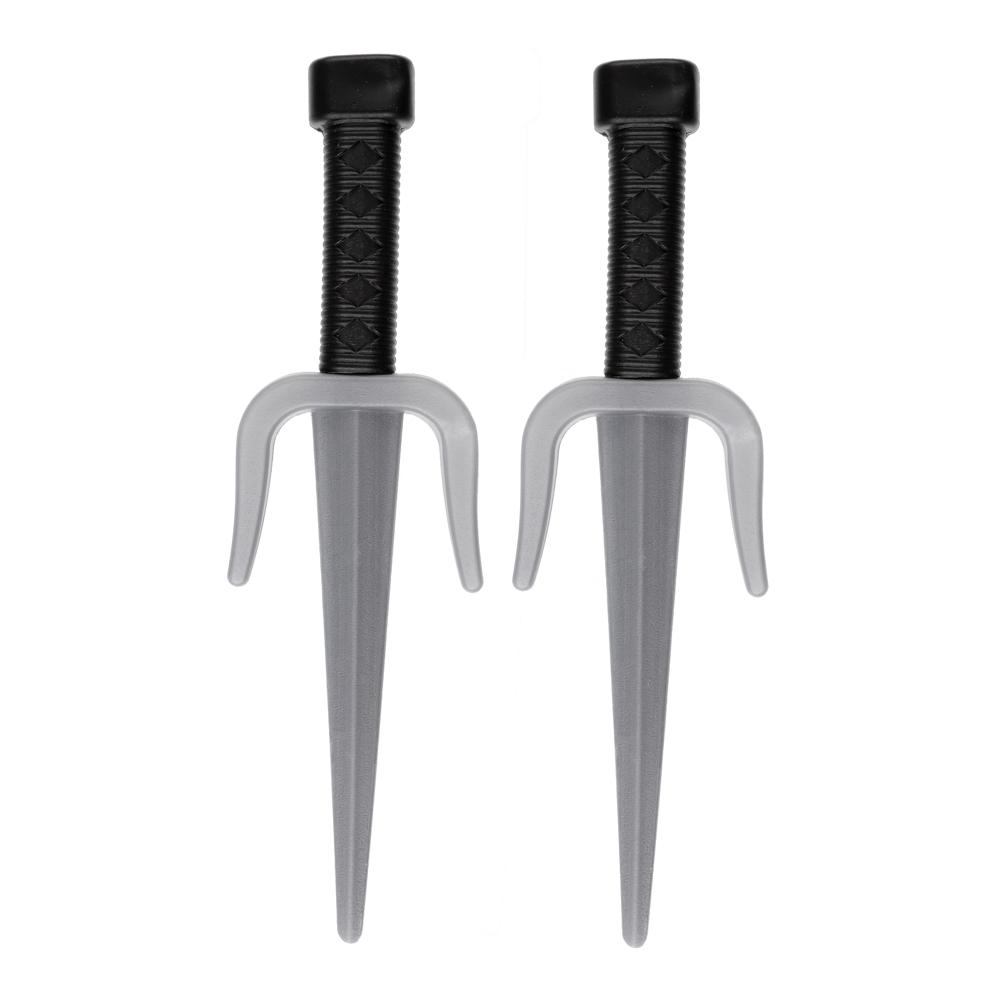 ИГРОЛЕНД Набор оружия рептилий-ниндзя, 2 пр., пластик, 63х19х2,5см, 3 вида